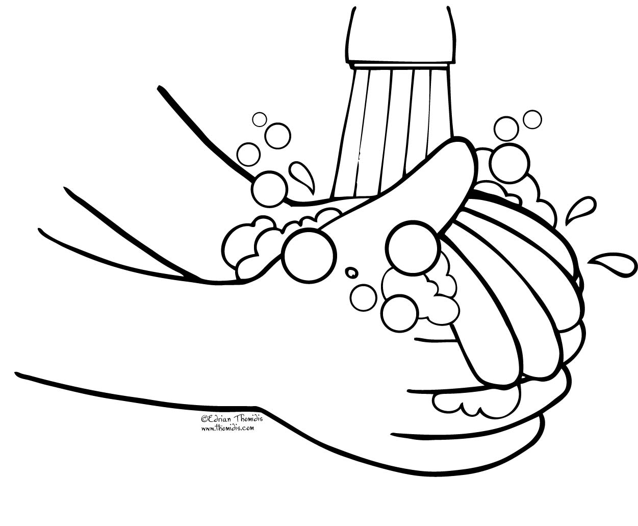 Clip art hand washing png library download Germs Hand Washing Clipart - Clipart Kid png library download