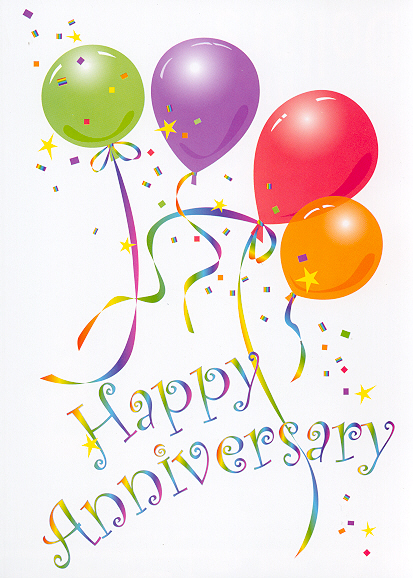 Clip art happy anniversary transparent Free happy anniversary clip art - ClipartFest transparent