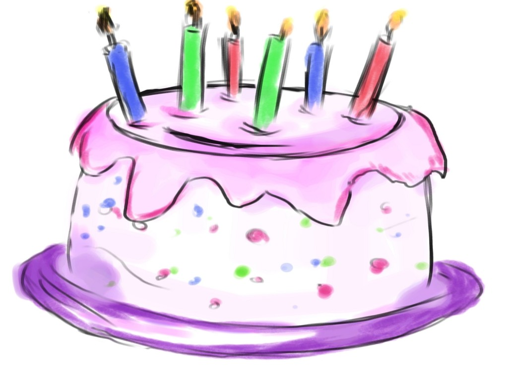 Terrific Clip Art Happy Birthday Cake Image 5 Funny Birthday Cards Online Fluifree Goldxyz