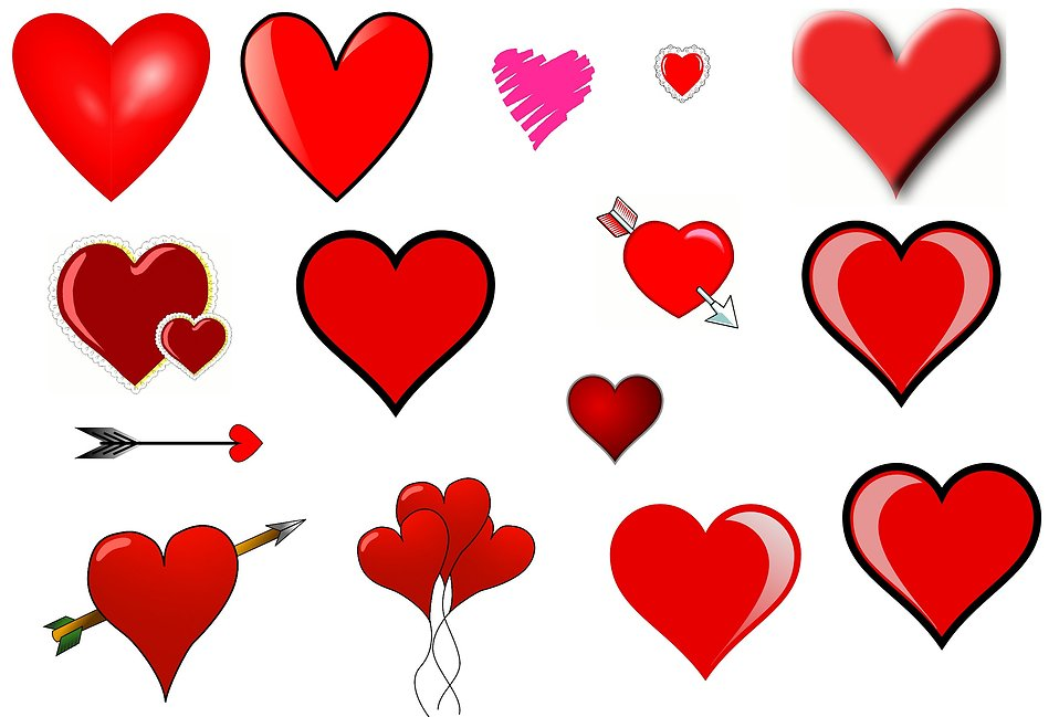 Clip art hearts free. Heart with wings clipart