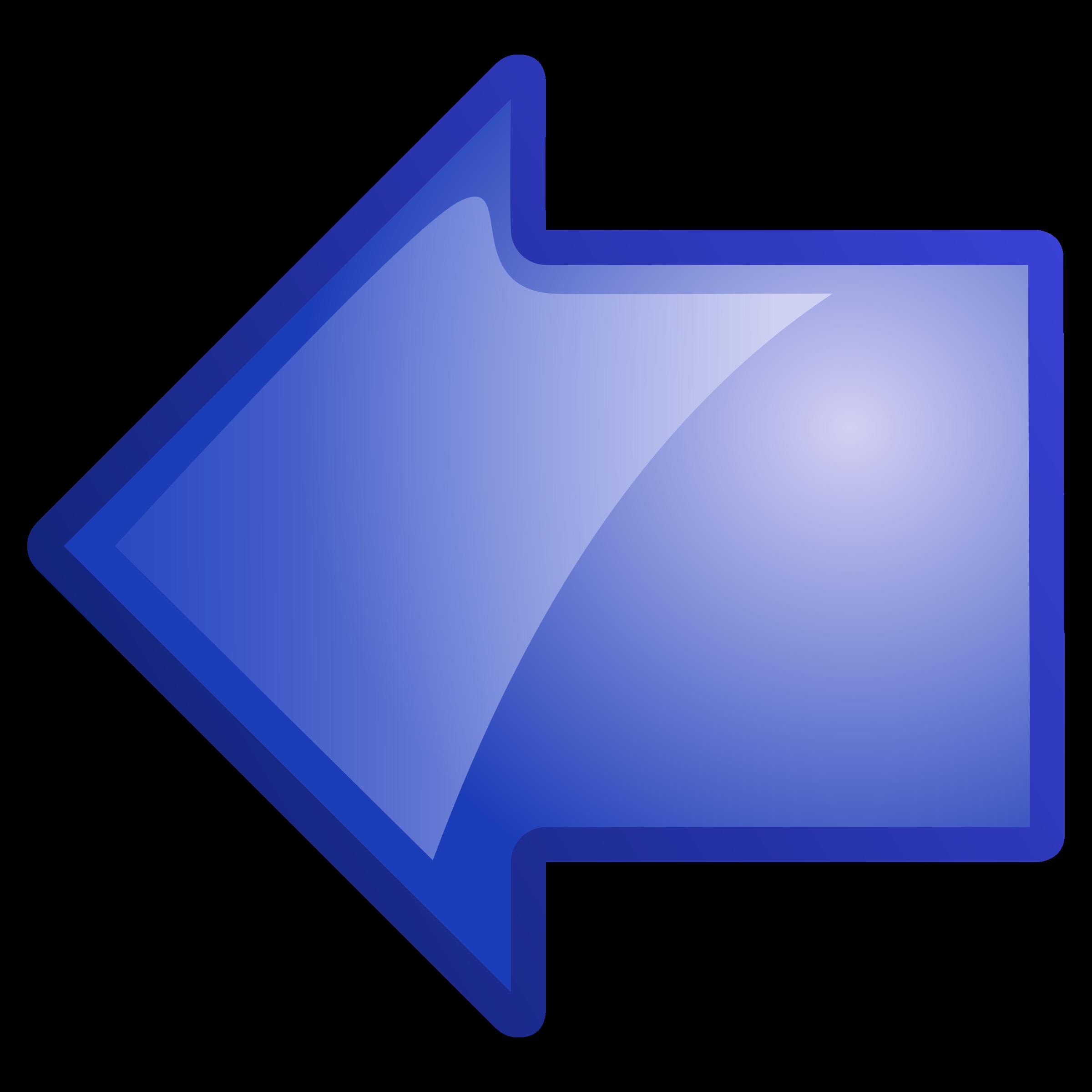 Clip art left arrow jpg royalty free download Clipart - arrow-blue-left jpg royalty free download