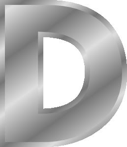 Clip art letters alphabet clipart freeuse download Effect Letters Alphabet Silver Clip Art at Clker.com - vector clip ... clipart freeuse download