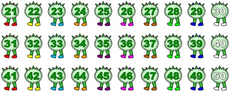 Clip art numbers 1 100 vector Clipart numbers 1 100 - ClipartFest vector