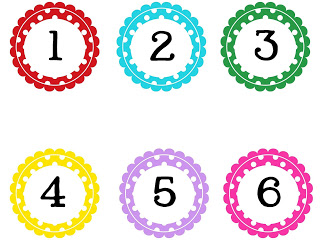 Clip art numbers 1 100 freeuse stock Polka Dot Numbers Clipart - Clipart Kid freeuse stock