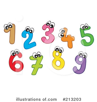 Clip art numbers 1 100 royalty free Clip Art Numbers 9 1 Clipart#2060512 royalty free