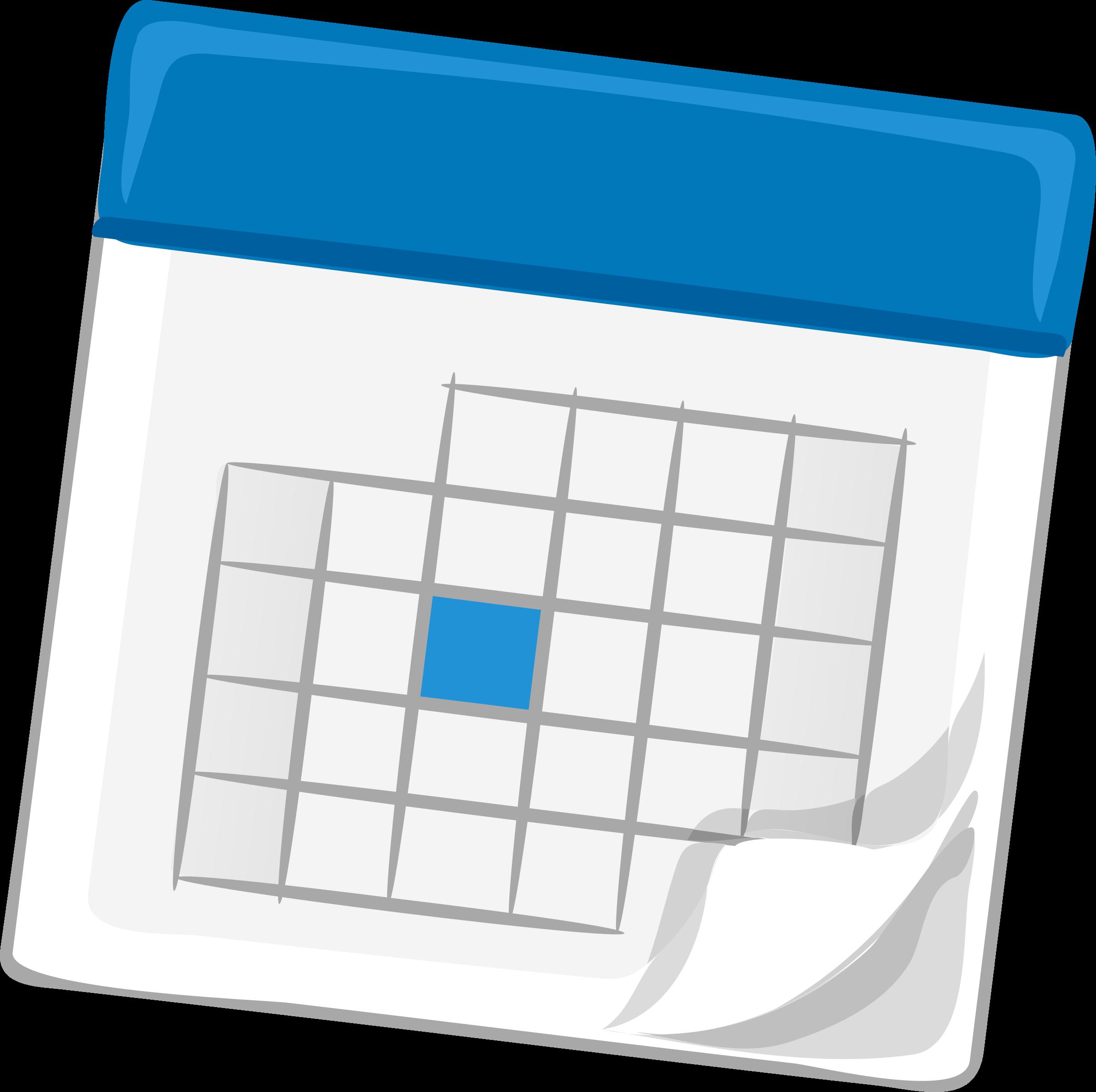 Clip art of calendar clip royalty free stock Clipart - calendar, blue clip royalty free stock