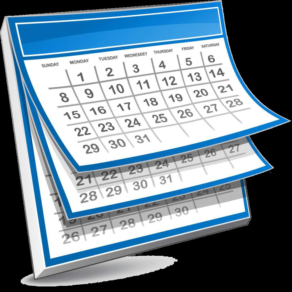 Clip art of calendar vector free stock Calendars – Rincon Vista Middle School vector free stock