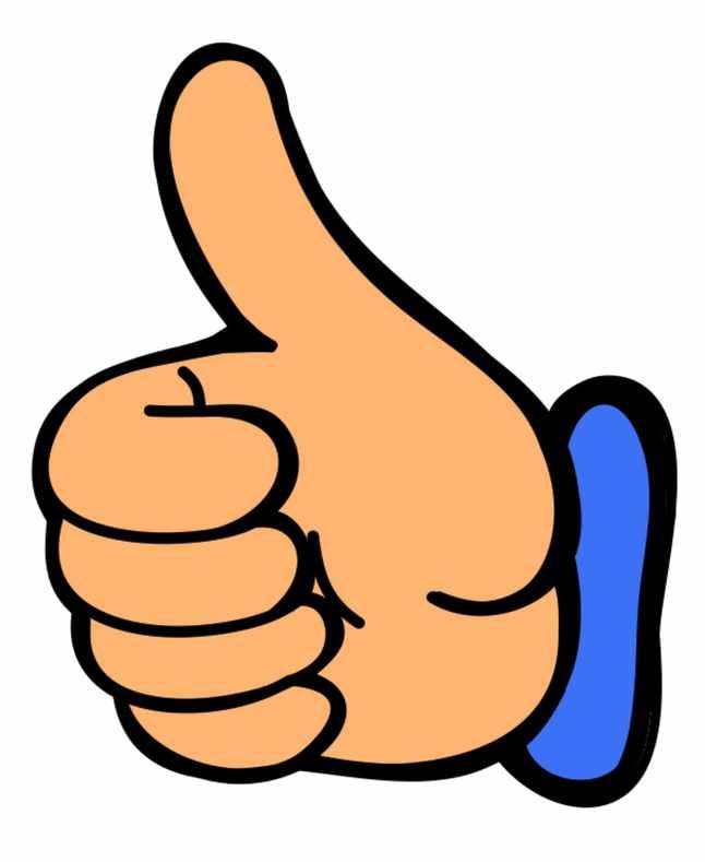 Clip art of thumbs up png transparent stock Free Thumbs Up Clipart Pictures - Clipartix png transparent stock