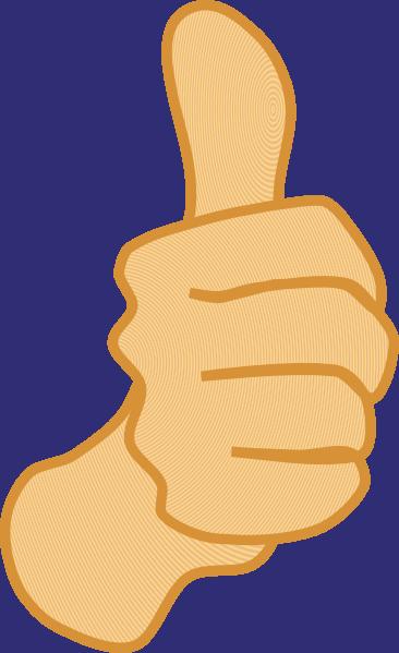 Clip art of thumbs up clipart transparent stock Thumbs Up 3 Clip Art at Clker.com - vector clip art online ... clipart transparent stock