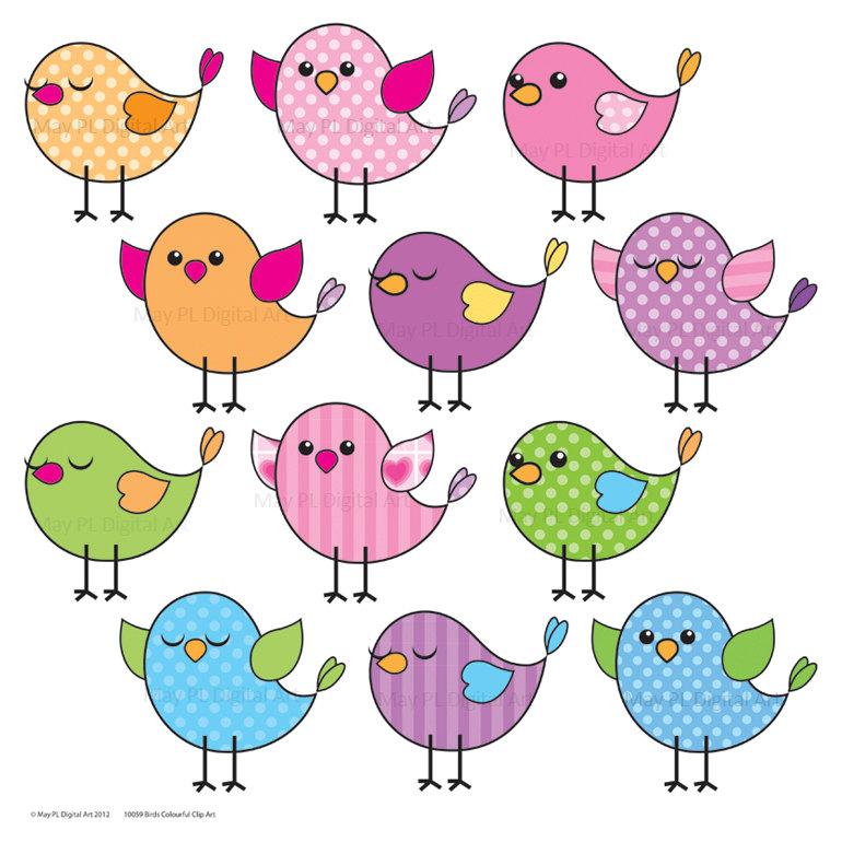 Clip art printables. Clipartfest cute birds clipart