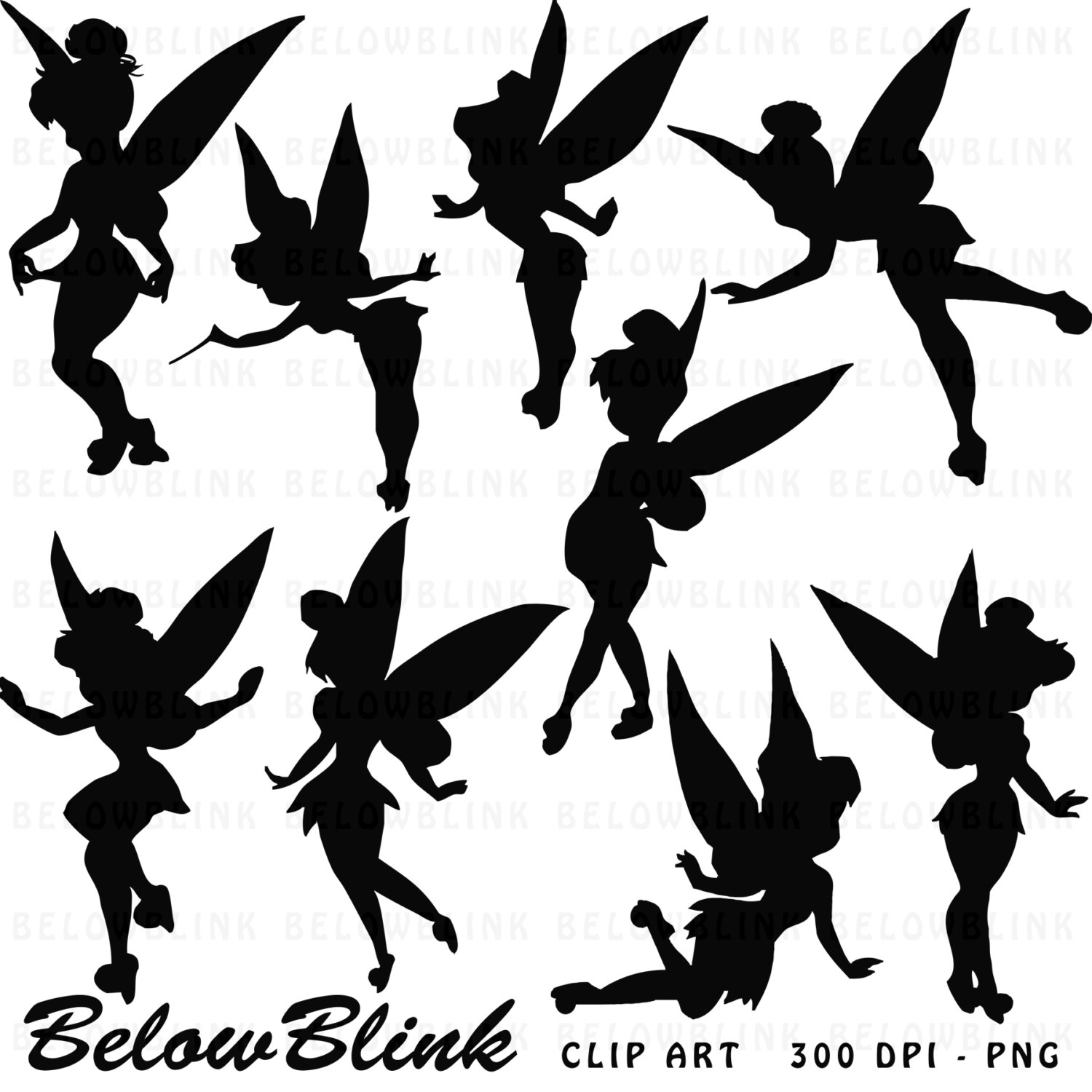 Tinkerbell free clipart . Clip art printables