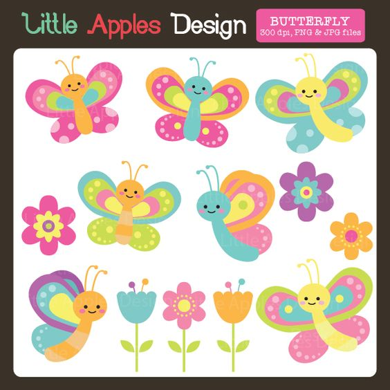 Butterfly clipart beautiful pastel. Clip art printables