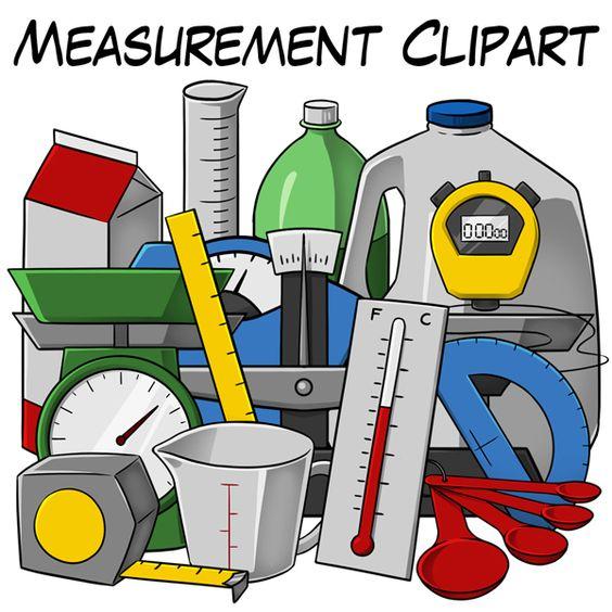 Clip art resources for teachers clipart black and white Measurement Clip Art | Clip art, Student-centered resources and ... clipart black and white