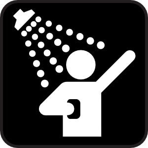 Clip art shower image freeuse library Shower clip art free - ClipartFest image freeuse library