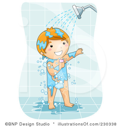 Clip art shower svg freeuse Taking A Shower Cartoon Clipart - Clipart Kid svg freeuse