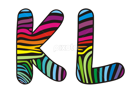 Clip art single letters svg free stock Background skin zebra shaped letter K,L | Single Letters ... svg free stock