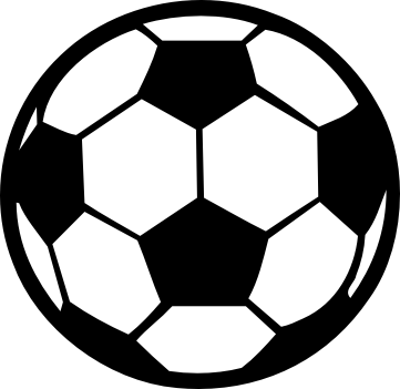 Clip art soccer ball svg library Gray soccer ball clipart - Clipartix svg library