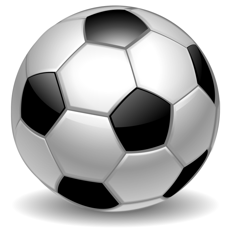 Free football clipart png black and white stock Soccer Ball Clipart - Clipart Kid black and white stock