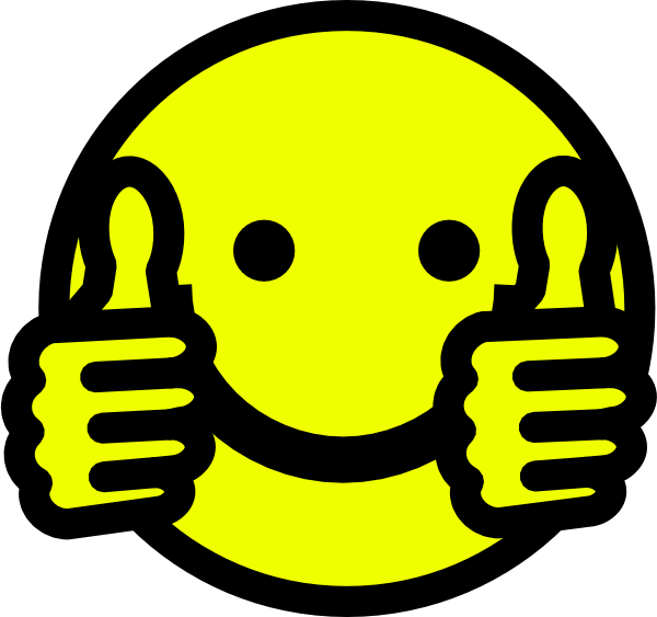 Clipart thumbs up smiley face graphic freeuse Star Thumbs Up Clipart - Clipart Kid graphic freeuse