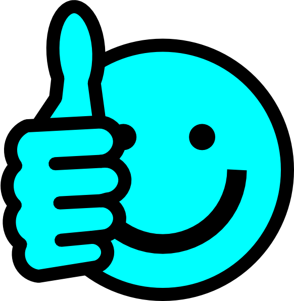 Clip art thumbs up jpg freeuse library Baby Blue Thumbs Up Clip Art at Clker.com - vector clip art online ... jpg freeuse library