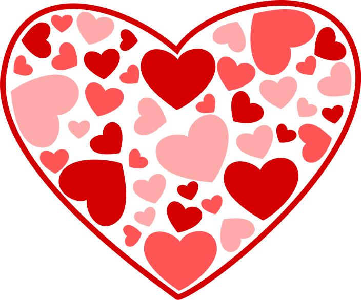 Clip art valentine hearts clip art library Free Valentine Hearts Clipart, 5 pages of Public Domain Clip Art clip art library