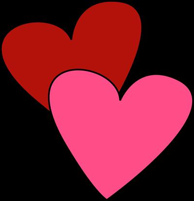 Clip art valentine hearts banner freeuse library Valentine's Day Clip Art - Valentine's Day Images banner freeuse library