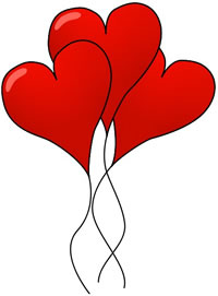 Clip art valentine hearts picture freeuse stock Small valentine heart clipart - ClipartFest picture freeuse stock