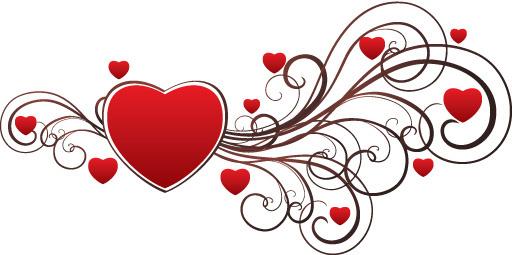 Clip art valentine hearts svg black and white stock Valentine heart outline free vector download (8,844 Free vector ... svg black and white stock
