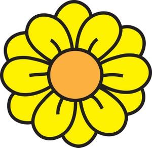 Clip art yellow flowers jpg stock Yellow Flower Clipart - Clipart Kid jpg stock