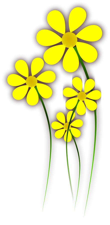 Clip art yellow flowers download Yellow Flower Clipart - Clipart Kid download