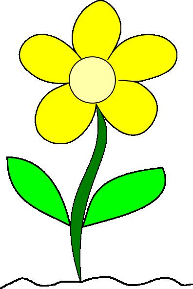 Clip art yellow flowers jpg free Flower growing clipart - ClipartFox jpg free