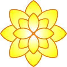 Clip art yellow flowers jpg library library Simple flower clip art - ClipartFest jpg library library