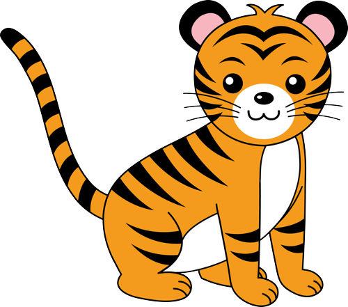 Clipar t. Tiger clip art clipart