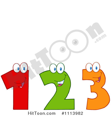 Clipart 1 2 picture freeuse download Number one two three clipart - ClipartFest picture freeuse download