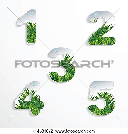 Clipart 1 2 3 banner free stock Clipart of 1 2 3 4 5 numbers k14531072 - Search Clip Art ... banner free stock