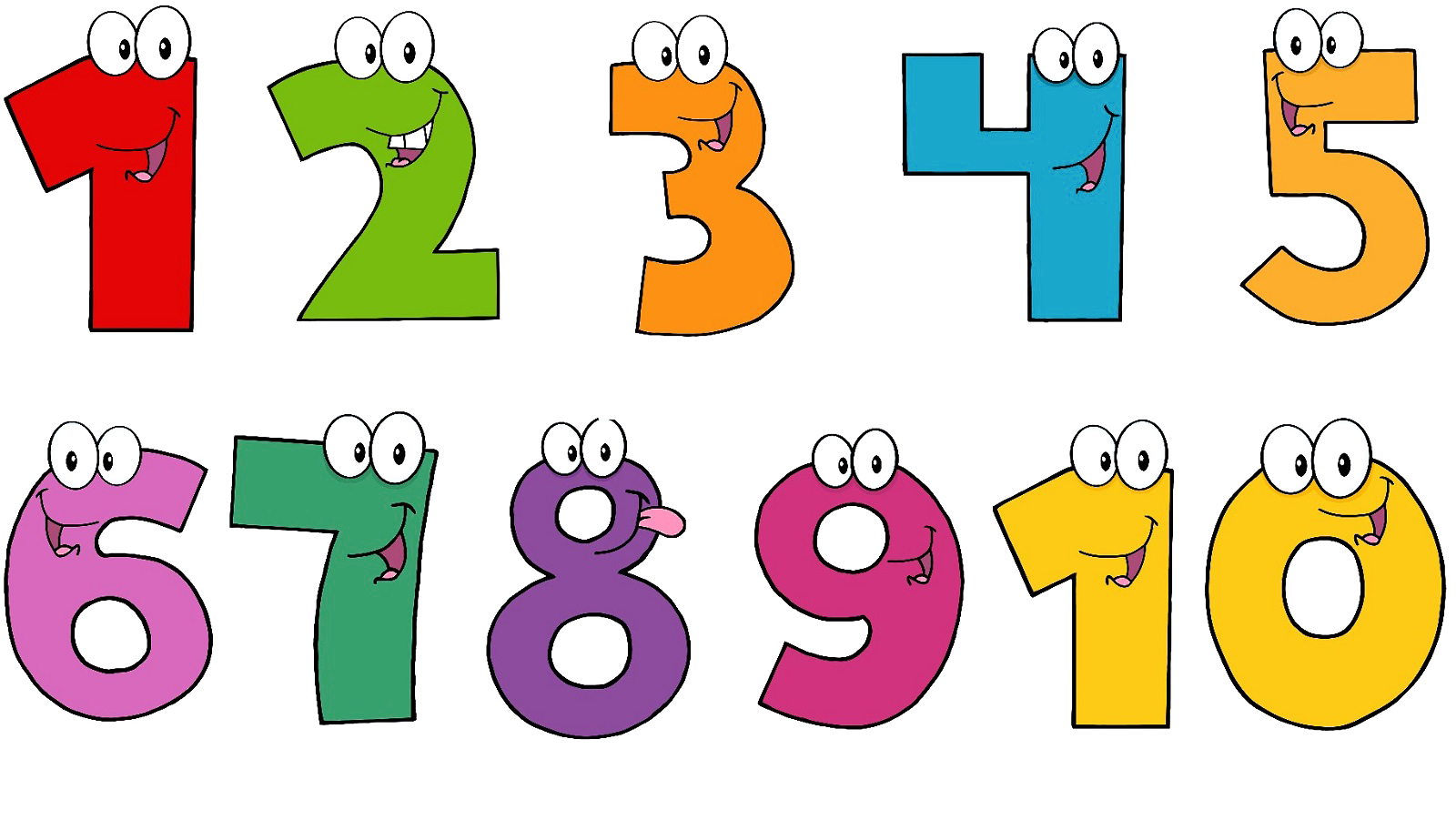 Numbers clipart 1 10 stock Number 2 clipart 1 2 3 4 5 cartoon FREE for download on rpelm stock