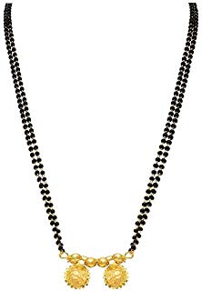 Clipart 1 gram mangalsutra picture transparent download Amazon.in: Black - Mangalsutras & Tanmaniyas / Women: Jewellery picture transparent download