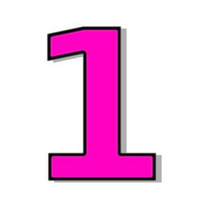 Clipart 1 pink picture transparent 98+ Clip Art 1 | ClipartLook picture transparent