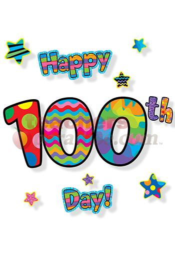 Clipart 100 black and white library 100 days of school clipart printable - ClipartFest black and white library