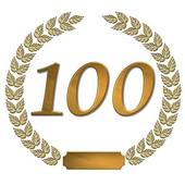 Clipart 100 image freeuse library 100 Anniversary Clipart - Clipart Kid image freeuse library