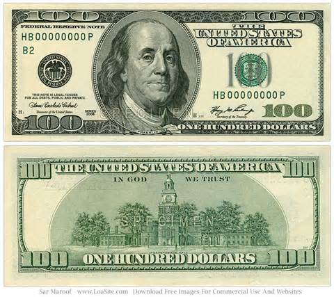 Clipart 100 dollar bill banner library download $100 Bill Clipart | Free Download Clip Art | Free Clip Art | on ... banner library download