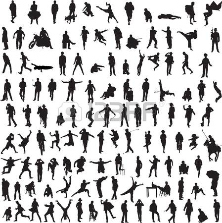 Clipart 100 people jpg royalty free download 59,486 Dancing Silhouettes Cliparts, Stock Vector And Royalty Free ... jpg royalty free download
