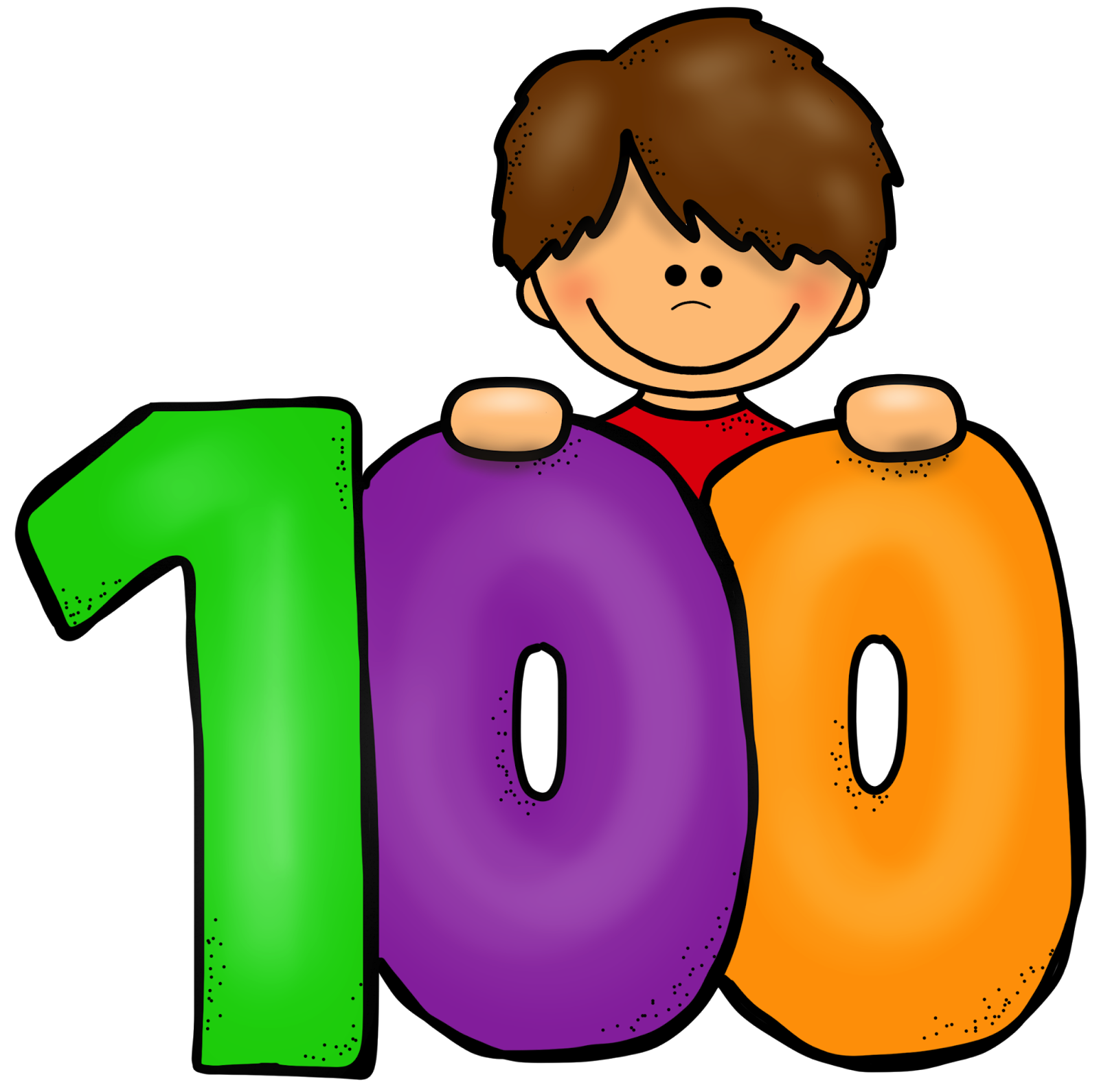 Clipart 100 days of school