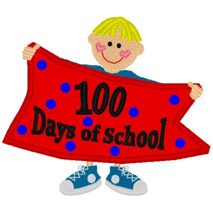Clipart 100th day banner stock Free 100 Day Cliparts, Download Free Clip Art, Free Clip Art on ... banner stock