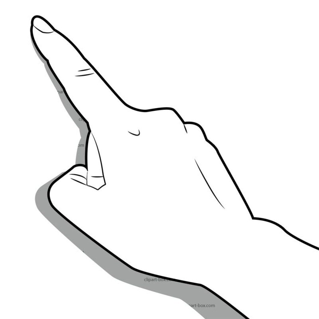 Touch finger to head clipart black and white graphic transparent library Middle Finger Clipart | Free download best Middle Finger Clipart on ... graphic transparent library