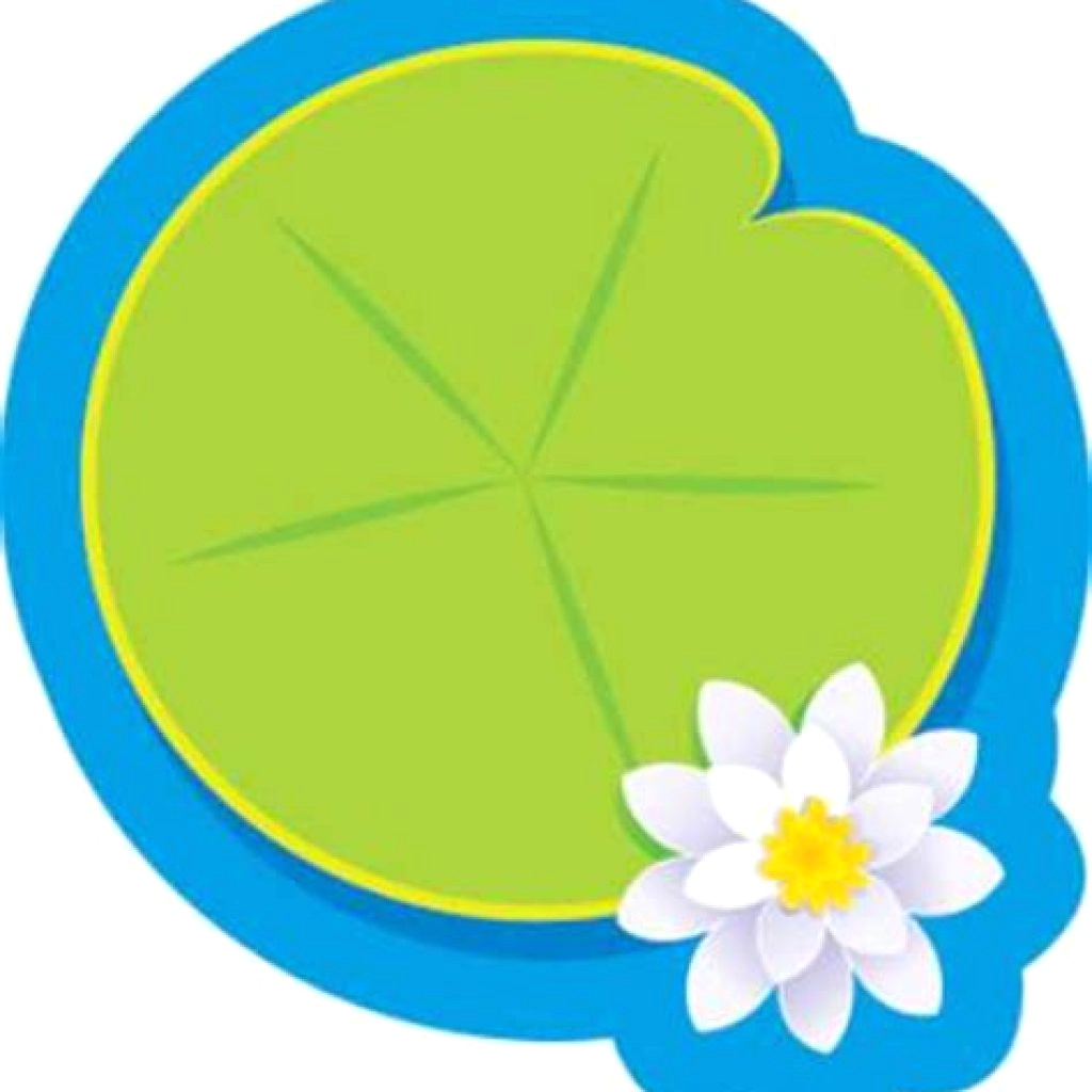 Clipart 1024x1024 transparent download Cartoon Lily Pad Pond With Newman Clipart 1024×1024 Pads Clip Art ... transparent download