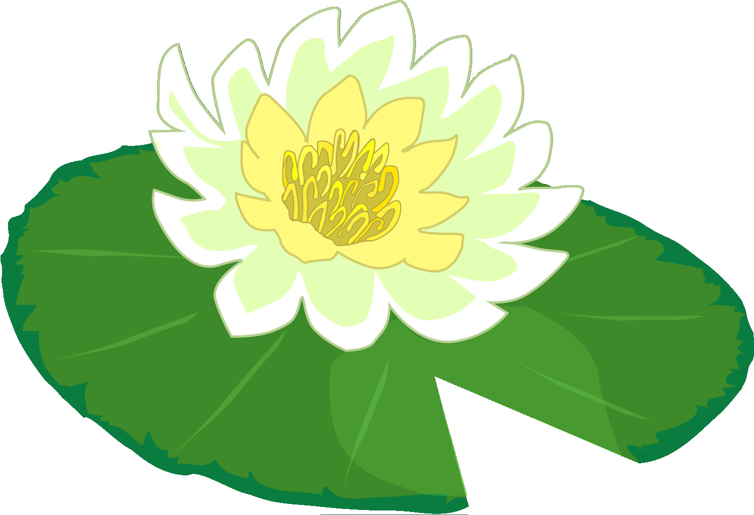 Clipart 1024x1024 vector black and white stock Cartoon Lily Pad Pond With Newman Clipart 1024×1024 Pads Clip Art 5 ... vector black and white stock