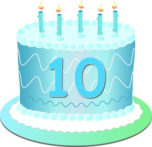 Clipart 10th birthday clipart library library 10th birthday clipart 2 » Clipart Portal clipart library library