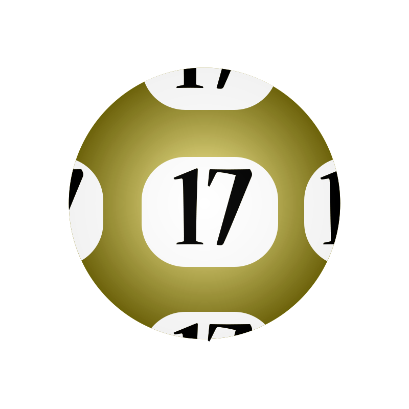 Clipart 17 svg stock Free Clipart: #17 Lotto Ball | casino svg stock