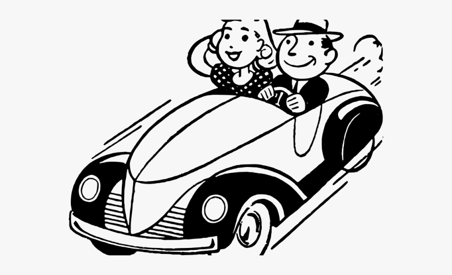 Clipart 1950s cars clipart royalty free download Classic Car Clipart 1950s Car - Meals On Wheels #1296718 - Free ... clipart royalty free download